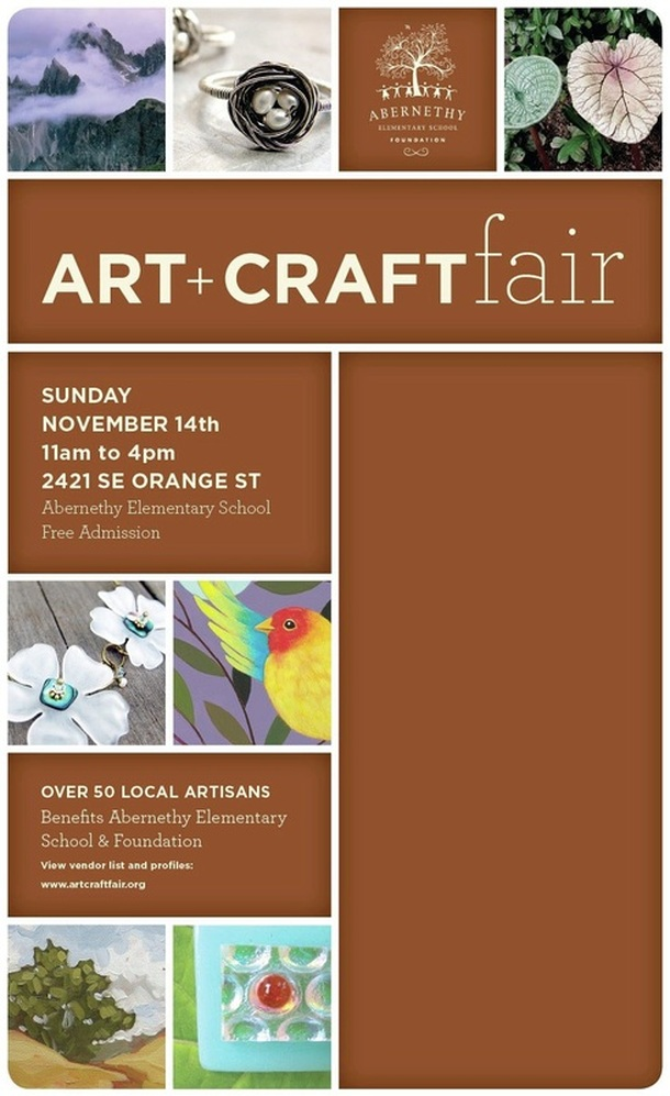 Abernethy Art + Craft Fair