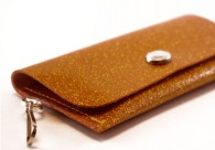 Sunset Sparkle Vinyl ID Wallet by Daogreer Earth Works