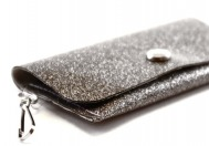 Universe Sparkle Vinyl ID Wallet by Daogreer Earth Works