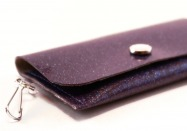 Bicycle Sparkle Vinyl ID Wallet by Daogreer Earth Works
