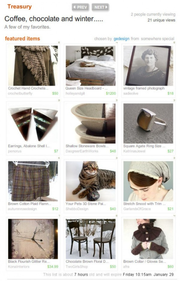 Brown Grey Gray Treasury