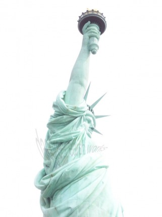 White Light of Liberty Fine Art Photograph by Daogreer Earth Works