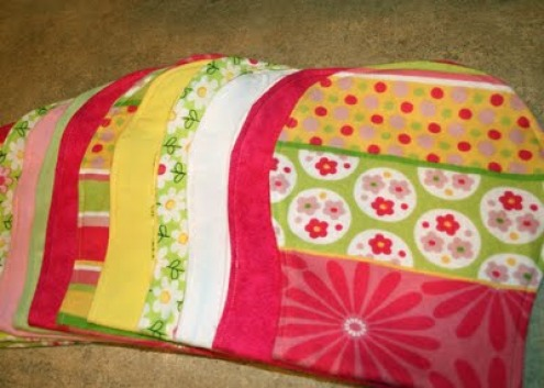Designs by Jessie: Burp Cloth Tutorial