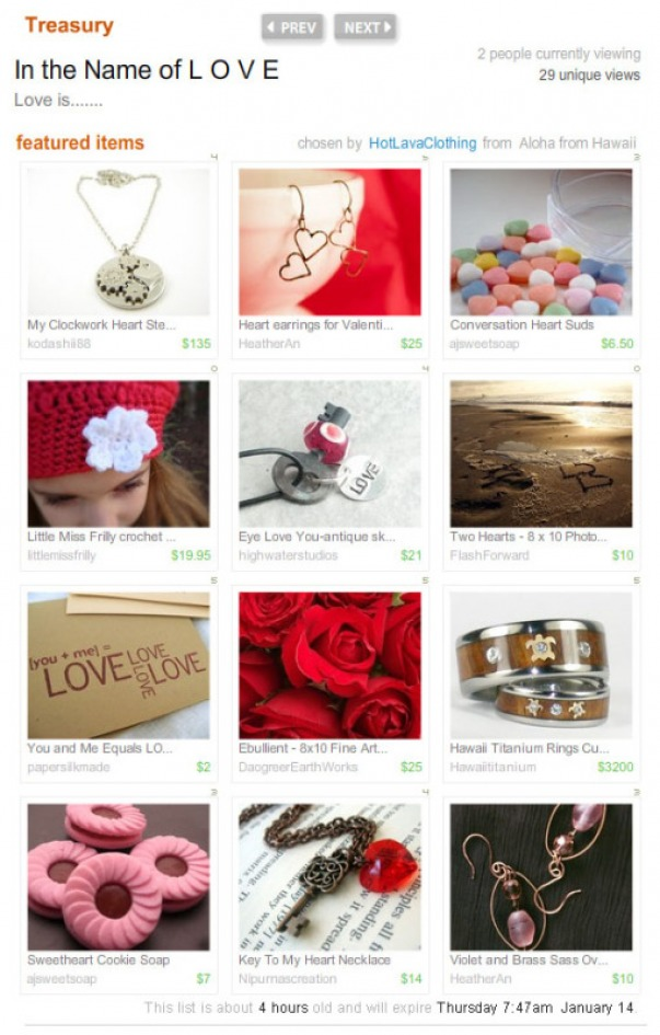 Love Treasury