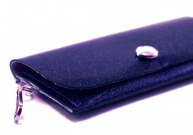 Victoria Sparkle Vinyl ID Wallet by Daogreer Earth Works