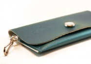 Aquarium Pearl Vinyl ID Wallet by Daogreer Earth Works