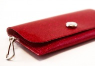 Watermelon Sparkle Vinyl ID Wallet by Daogreer Earth Works